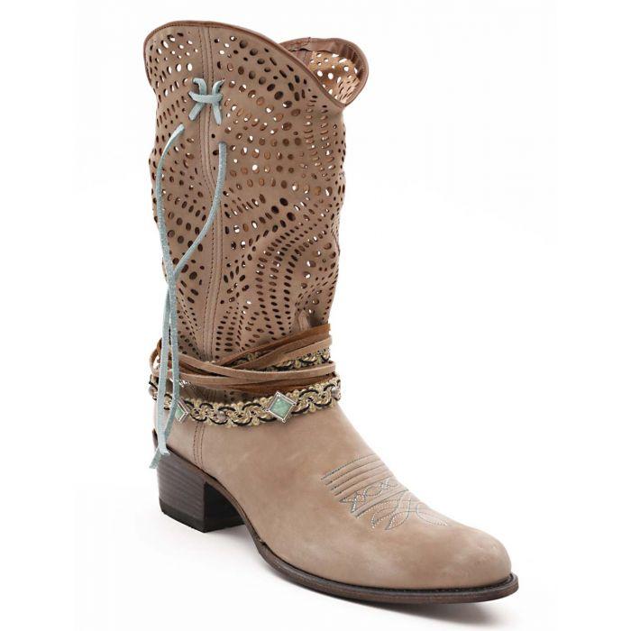 Sendra Summer Boots 12600 Inca Oxido Taube