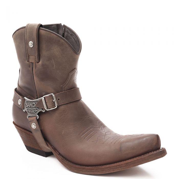 BIKER BOOTS 42 43 Derbe Leder Cowboy Stiefel Schwarz