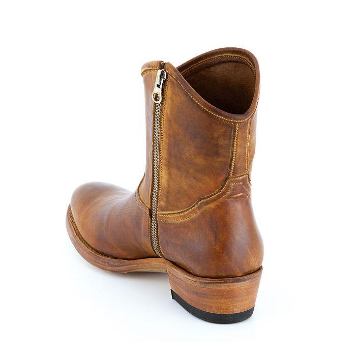 Neu Sancho Abarca Boots 2322 Apparel Tintar Cuero im Angebot