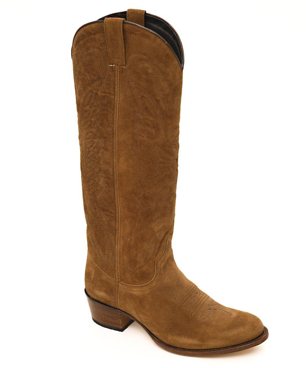 Neue frauen kniehohe stiefel 3 cm low heels western stiefel